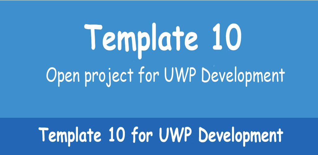 Template 10 for UWP